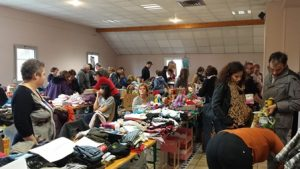 Un beau week-end pur la Vente au déballage